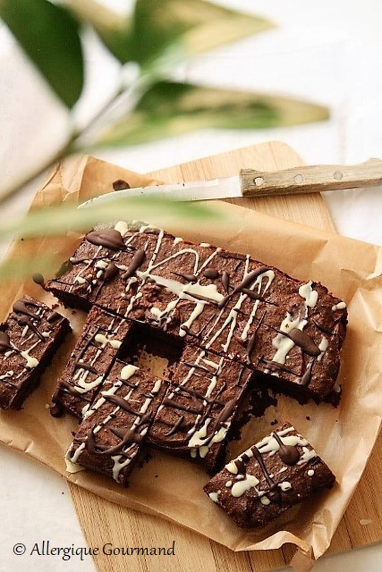 Recette de brownie bio sans gluten sans lait et sans oeufs - Cuisinez gourmand sans gluten sans lait sans oeufs ...