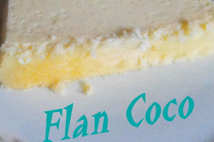 Flan coco express