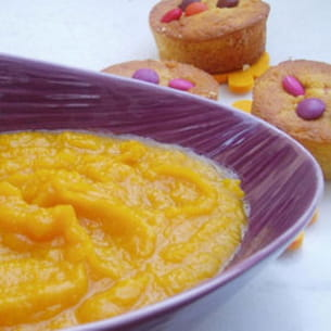 compote de potimarron-pommes et miel