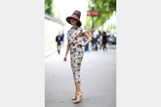 Street looks fashion week haute couture : branché