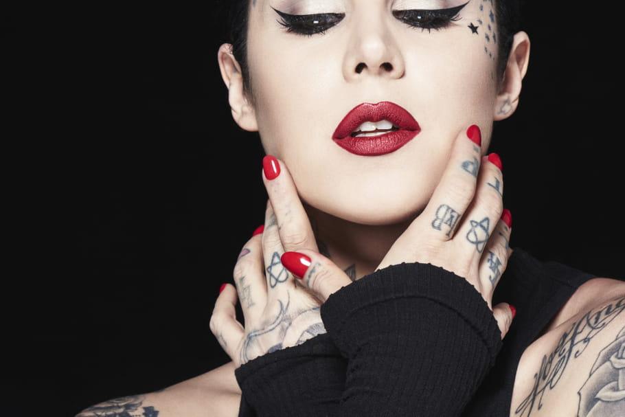 """Kat Von D: """"Le maquillage est une autre manière de créer, de s'exprimer."""""""