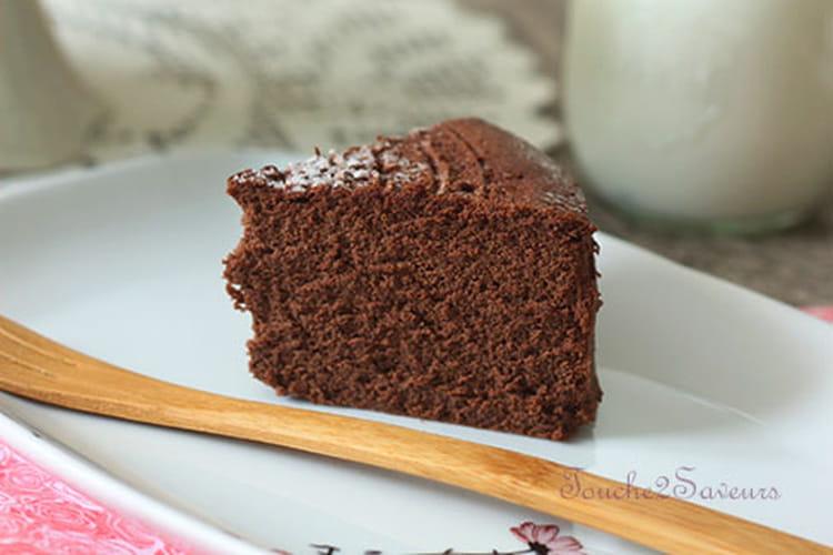 Chocolate souffle cheesecake