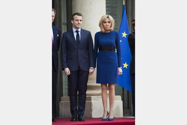 Brigitte Macron le 19mars 2018