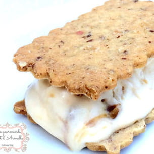 crème glacée au caramel beurre salé