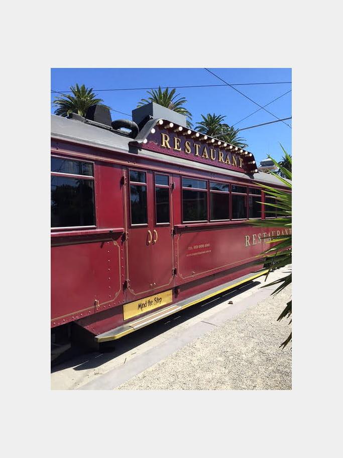 Un tramway nommé restaurant