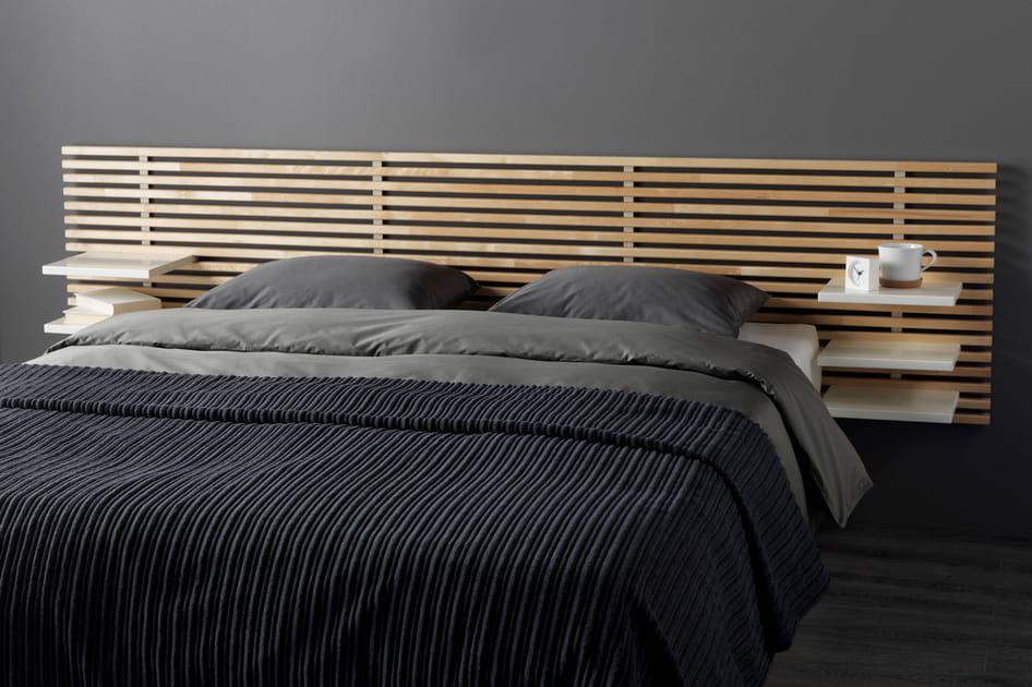 Tête de lit étagère IKEA