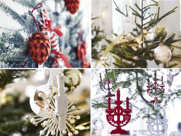 Déco IKEA sapin de Noël