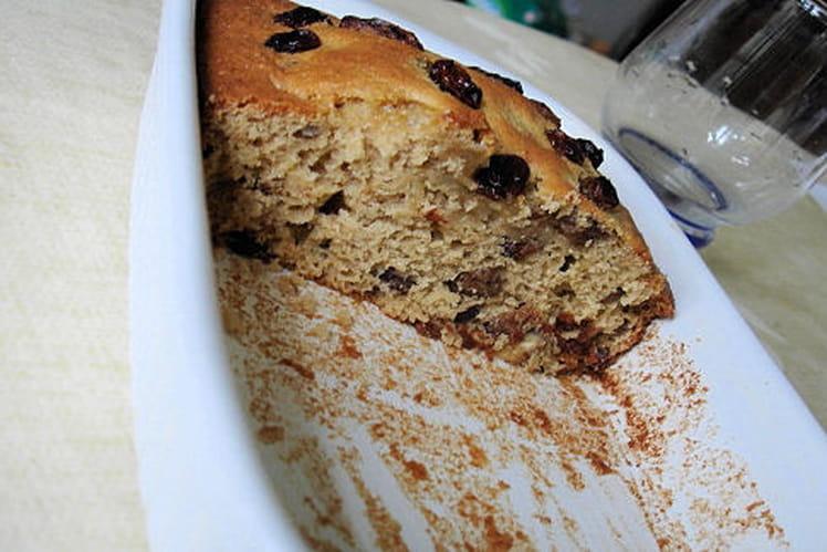 Gâteau de régime aux raisins secs