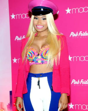 nicki minaj, le 24 septembre 2012, chez macy's, à new york.