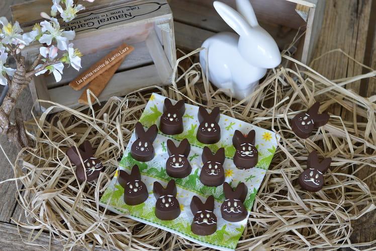 Chocolat de Pâques aux crêpes dentelles