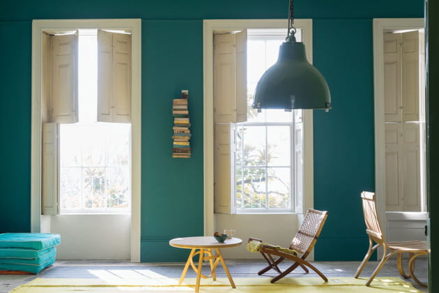 peinture vert vardo par farrow ball. Black Bedroom Furniture Sets. Home Design Ideas