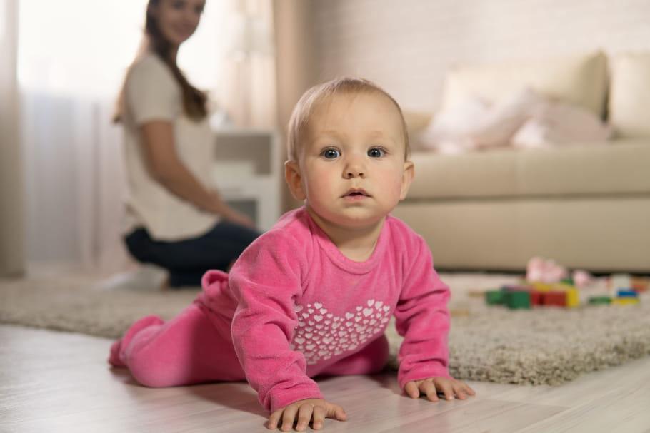 Le bébé de 8 mois