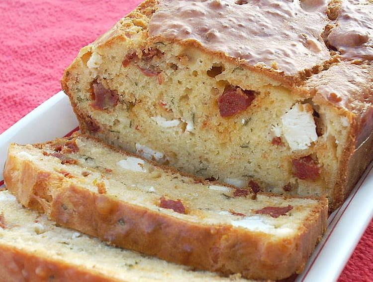 Cake Feta Tomates Chorizo