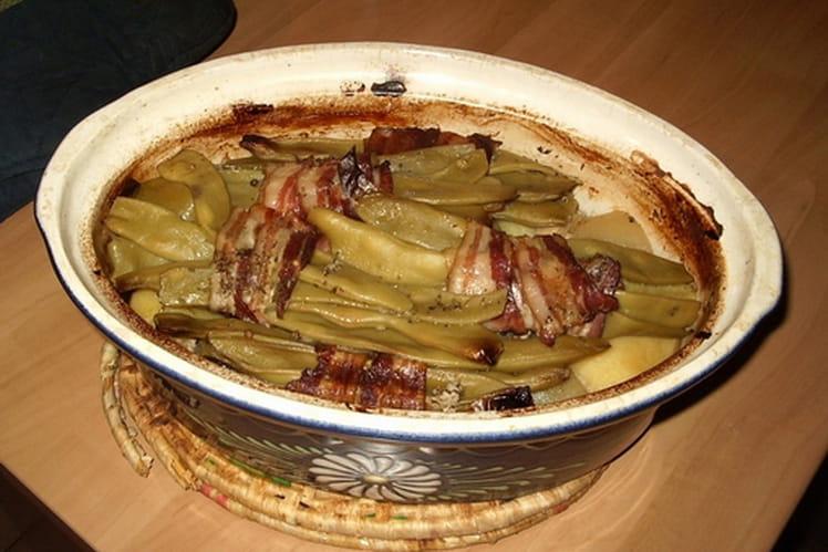 Porc aux haricots coco