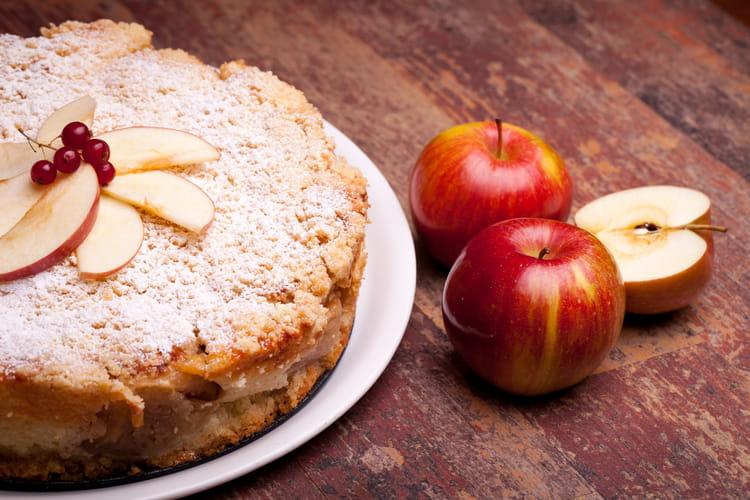 Gâteau aux pommes fondant