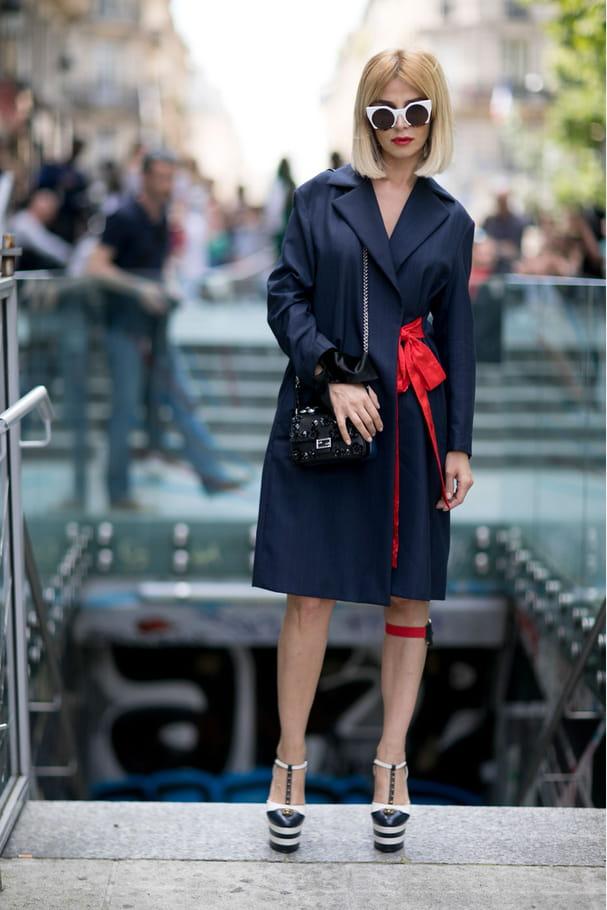 Street style à Paris : le trench revisité