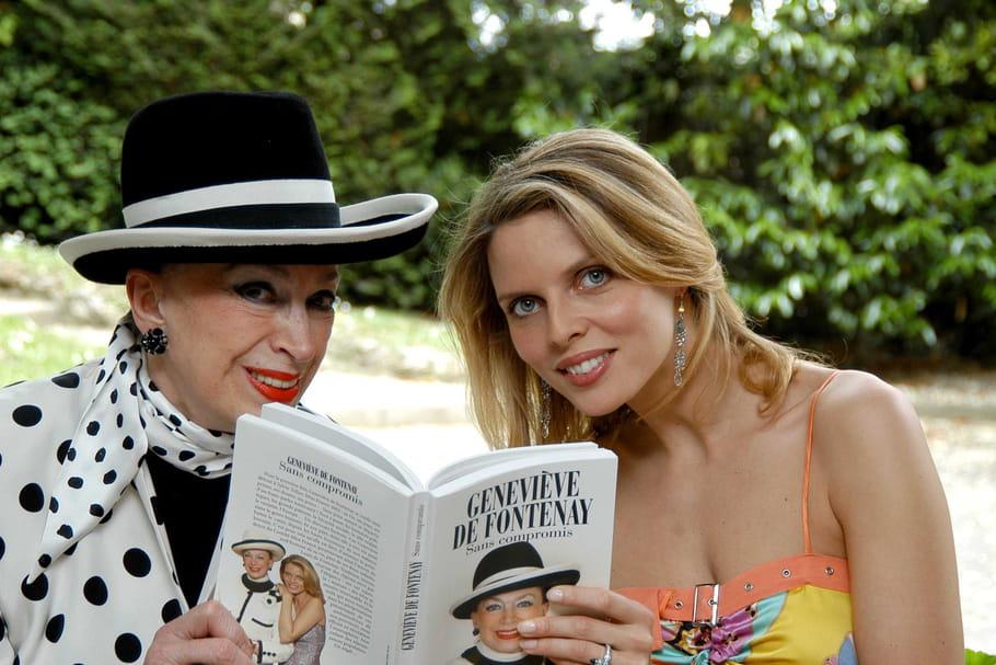 Geneviève de Fontenay, furibonde, profère des horreurs sur Sylvie Tellier