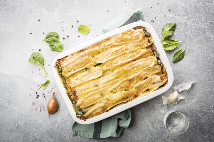 Cannelloni au fromage pour tartiflette Richesmonts et aux épinards