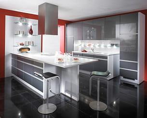 parure m tal gris m talis. Black Bedroom Furniture Sets. Home Design Ideas