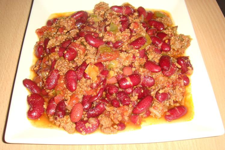 Chili con carne au bouillon
