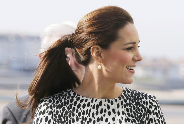 Kate Middleton: la queue de cheval haute
