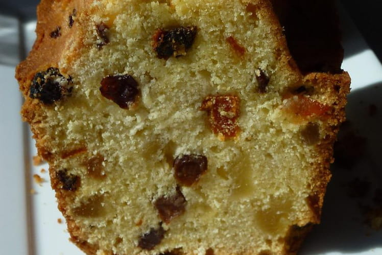 Cake anglais aux fruits (fruit cake)