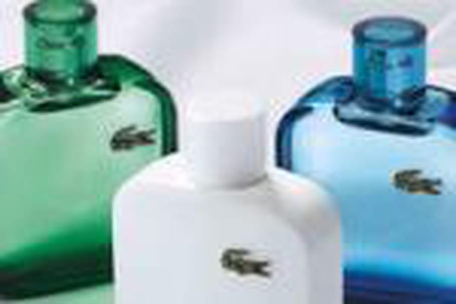 Lacoste lance sa première collection de parfums pour homme