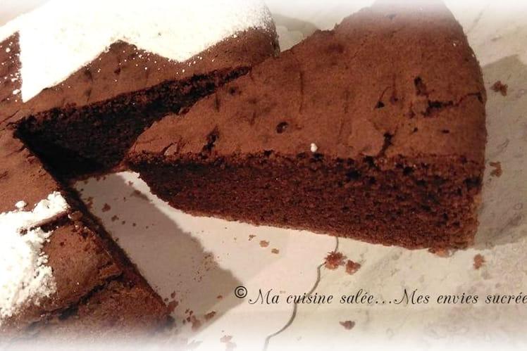 Gâteau au chocolat de l'enfance