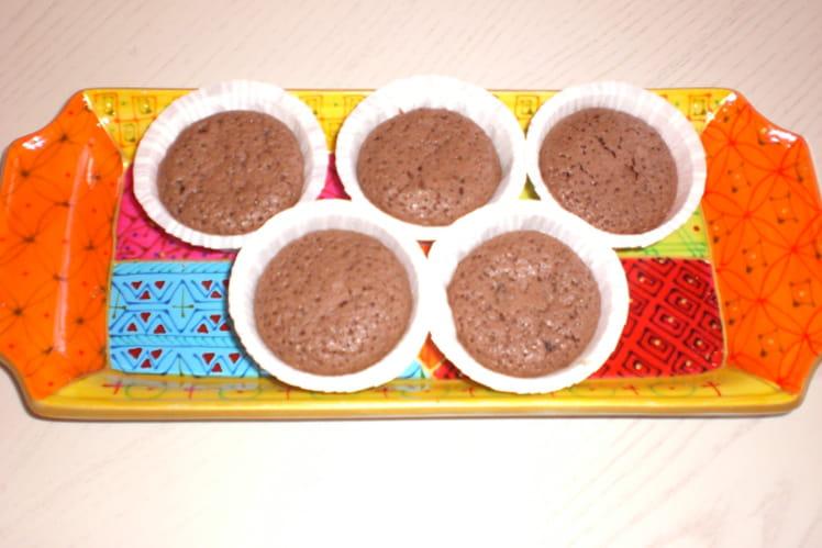 Muffins au chocolat économiques