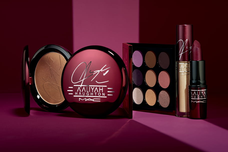MAC Cosmetics lance une collection make-up en hommage à la chanteuse Aaliyah