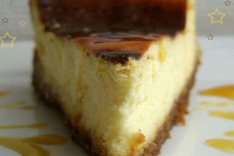 Cheesecake au toffee