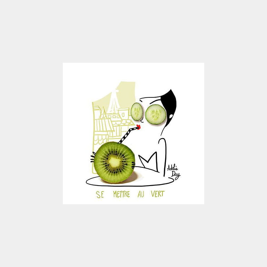Boire la vie en vert
