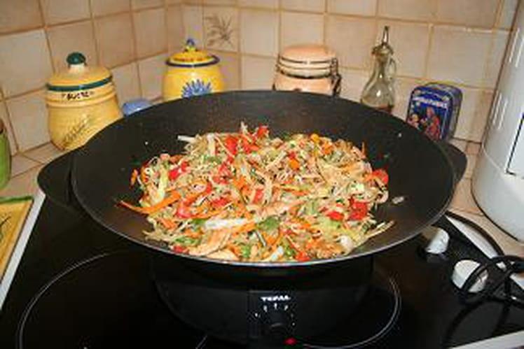 Chop suey à la volaille