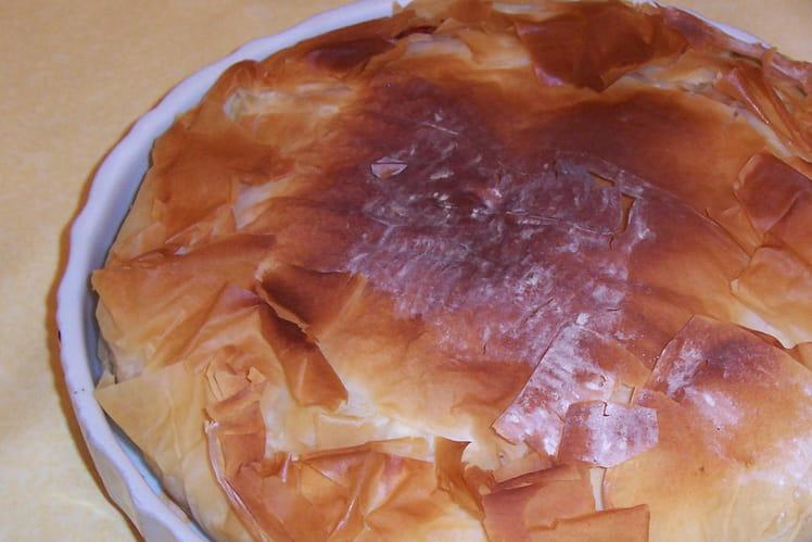 Tourte aérienne raclette-pommes de terre