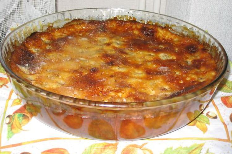 Clafoutis d'automne aux raisins