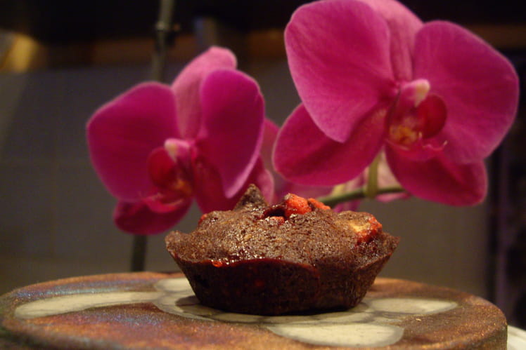 Financiers aux pralines roses, nature ou chocolat