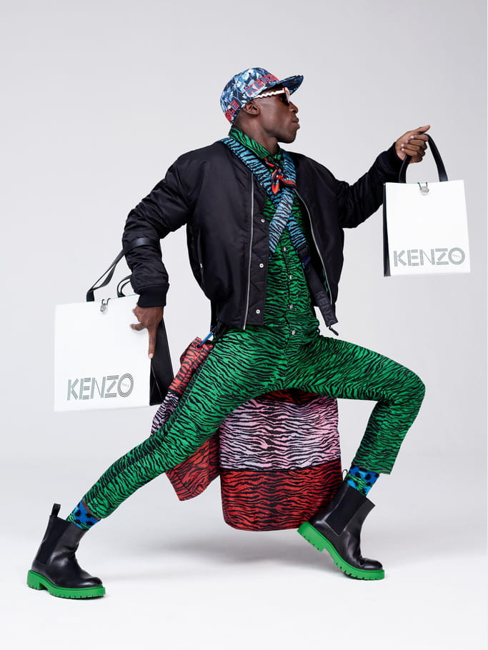 Kenzo X H&M, look 20