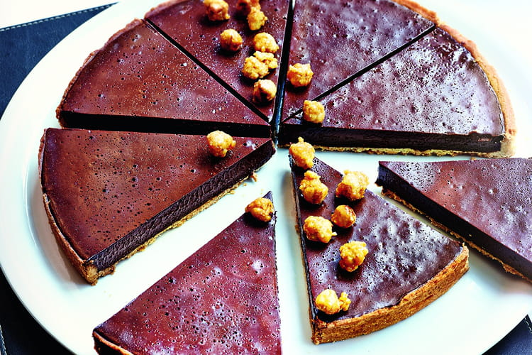 Tarte au chocolat d'Eric Frechon
