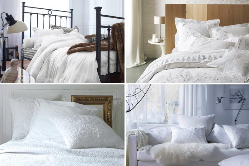 du linge blanc clatant pour ma chambre. Black Bedroom Furniture Sets. Home Design Ideas