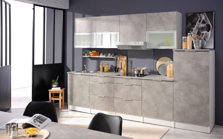 cuisine spoon de conforama. Black Bedroom Furniture Sets. Home Design Ideas