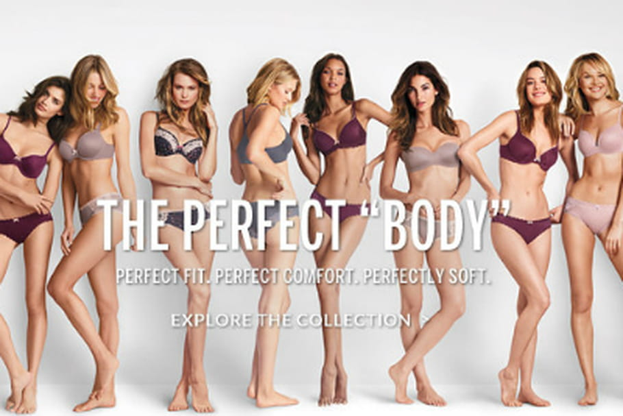 "La campagne ""The Perfect Body"" de Victoria's Secret fait scandale"