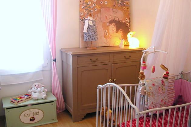 Klimt, voilage et petits pois
