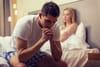 Faire l'amour le premier soir: le stress du mâle