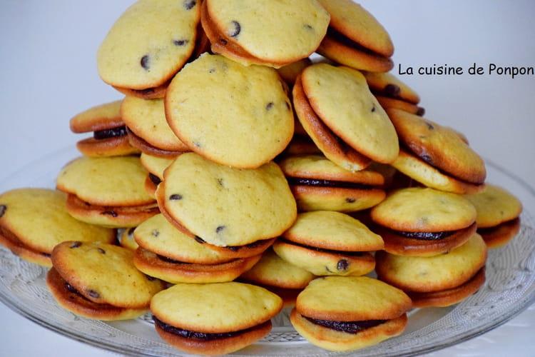 Biscuits à la banane aux pépites de chocolat