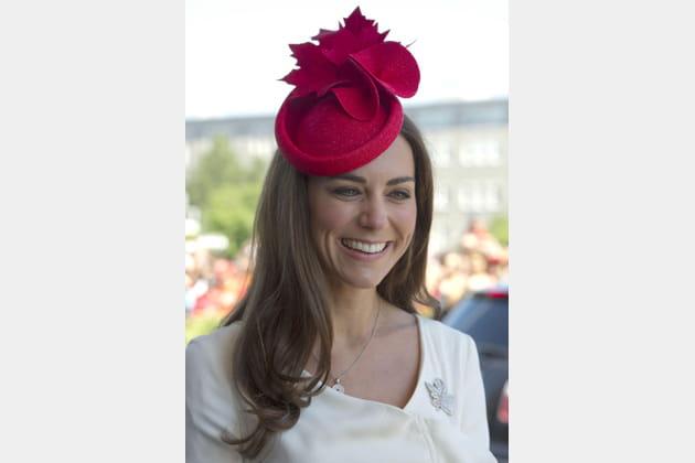 Kate Middleton: le brushing accessoirisé