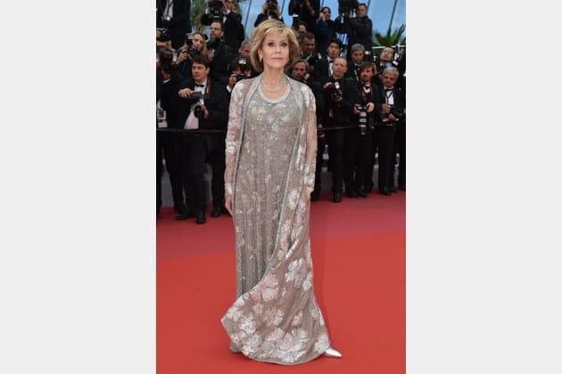 Jane Fonda en Maison Valentino
