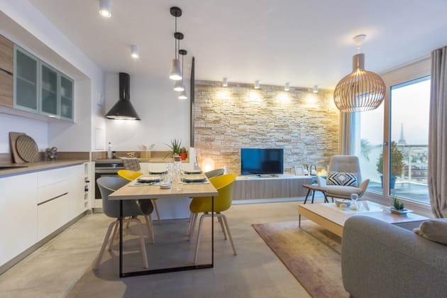 Un appartement tout neuf et personnalisé de 63m²