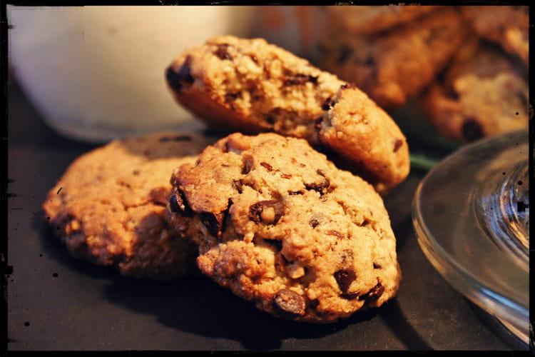 Cookies aux flocons d'avoine torréfiés