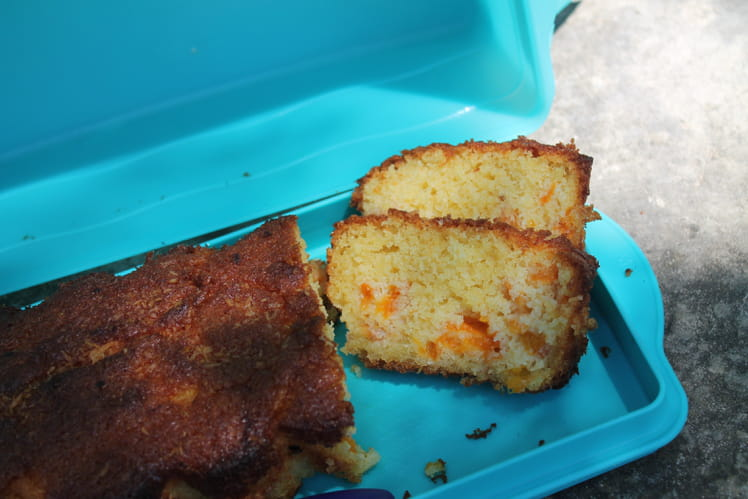 Cake abricot coco