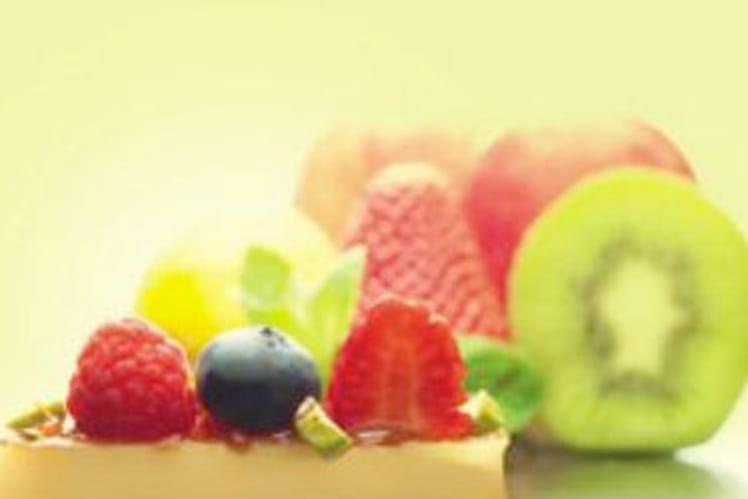 Mignardises de Beaufort et fruits frais